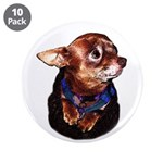 """Chihuahua 3.5"""" Button (10 pack)"""