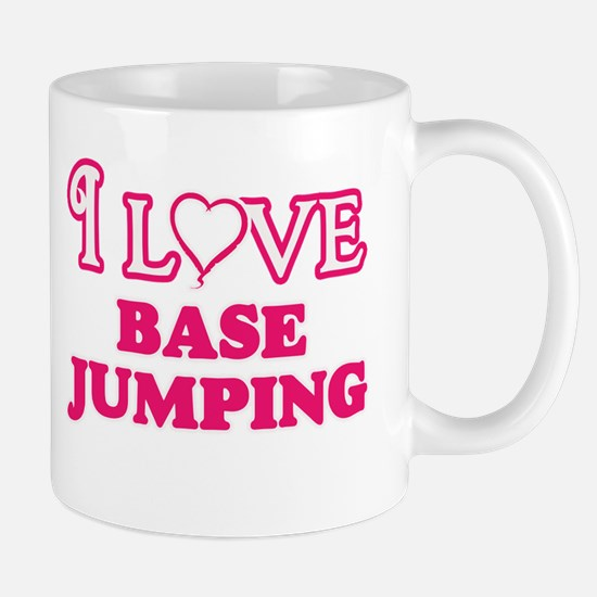I Love Base Jumping Mugs