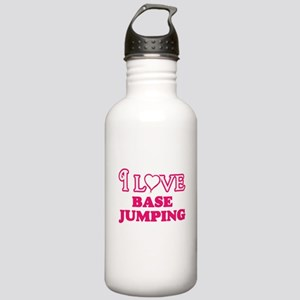 I Love Base Jumping Stainless Water Bottle 1.0L