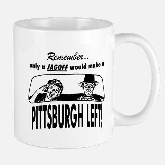 The Pittsburgh Left Mug