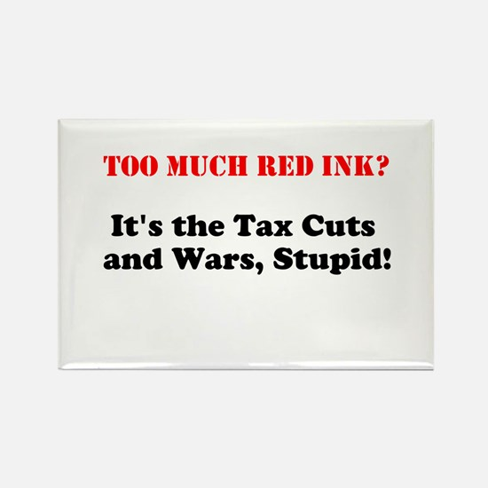 Cute Tax cuts Rectangle Magnet