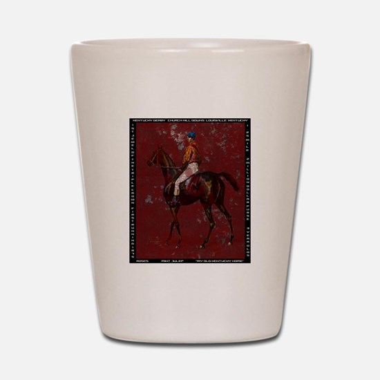 Vintage Kentucky Derby Shot Glass