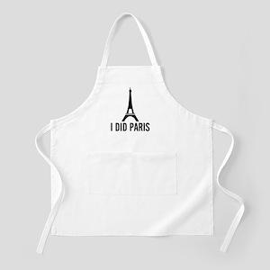 I Did Paris BBQ Apron