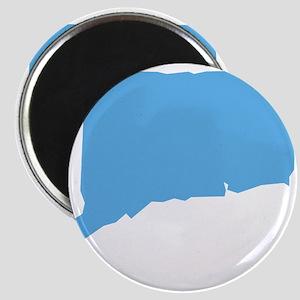 Baby Blue Connecticut Magnet