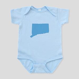 Baby Blue Connecticut Infant Bodysuit