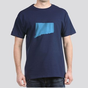 Baby Blue Connecticut Dark T-Shirt