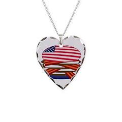 USA Burger - Necklace