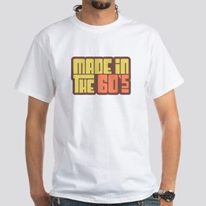 Made in the 60's White T-Shirt