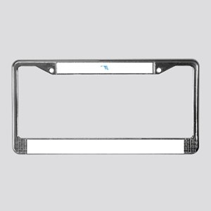 Baby Blue Maryland License Plate Frame