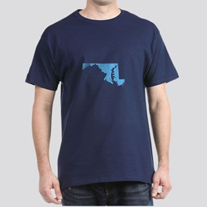 Baby Blue Maryland Dark T-Shirt
