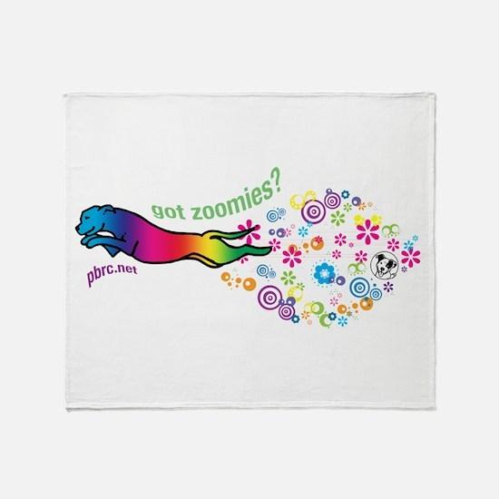 got zoomies? Throw Blanket