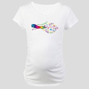 got zoomies? Maternity T-Shirt