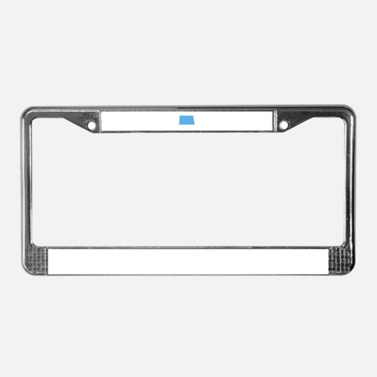 Baby Blue North Dakota License Plate Frame
