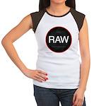 I'm a RAW photographer Women's Cap Sleeve T-Shirt