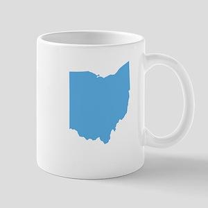 Baby Blue Ohio Mug