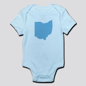 Baby Blue Ohio Infant Bodysuit