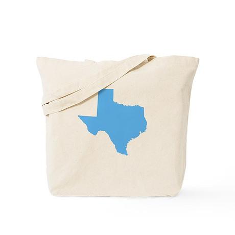 Baby Blue Texas Tote Bag