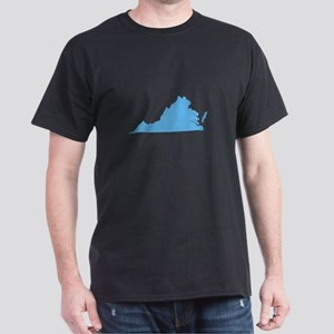 Baby Blue Virginia Dark T-Shirt