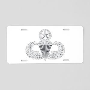 Airborne Master Aluminum License Plate