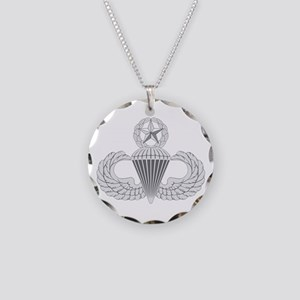 Airborne Master Necklace Circle Charm