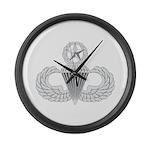 Airborne Master Large Wall Clock