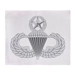 Airborne Master Throw Blanket