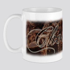 Hot chocolate drinking mug