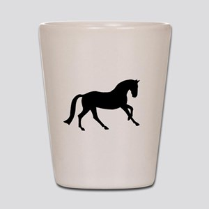 Cantering Horse Shot Glass