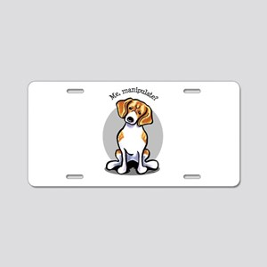Funny Beagle Aluminum License Plate