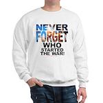 Never Forget Who Sweatshirt