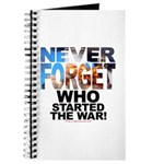 Never Forget Who Journal