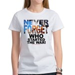 Never Forget Who Women's Tee