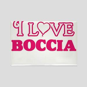 I Love Boccia Magnets