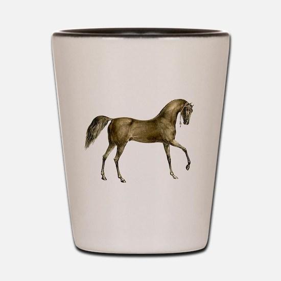 Vintage Horse Shot Glass
