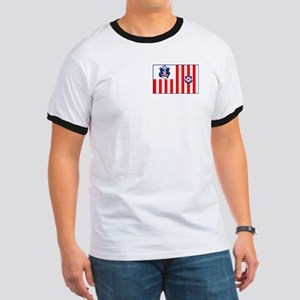 Coast Guard<BR> Ringer T-Shirt 2