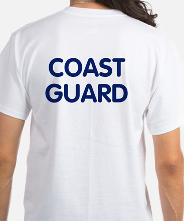 Coast Guard<BR> White T-Shirt 2