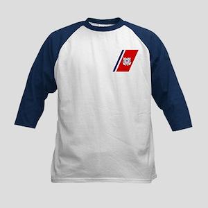 Coast Guard<BR> Kids Baseball Jersey 4