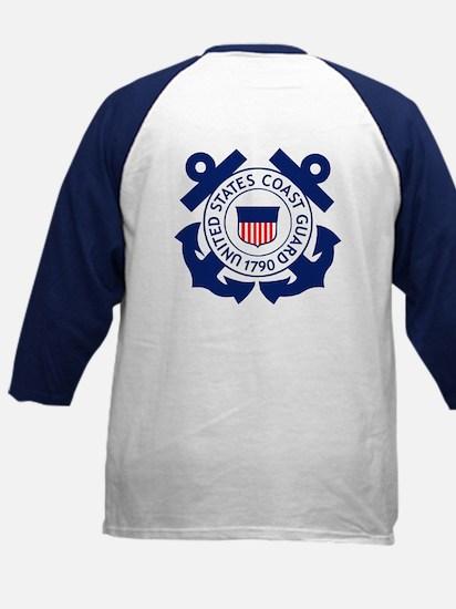 Coast Guard<BR> Kids Baseball Jersey 7
