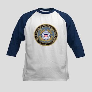 Coast Guard<BR> Kids Baseball Jersey 8