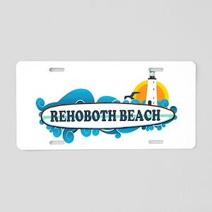 Rehoboth Beach DE - Surf Design Aluminum License P