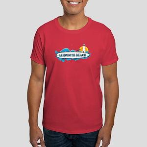 Rehoboth Beach DE - Surf Design Dark T-Shirt