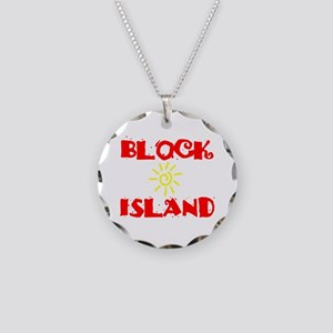 BLOCK ISLAND III Necklace Circle Charm
