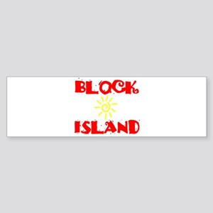 BLOCK ISLAND III Sticker (Bumper)