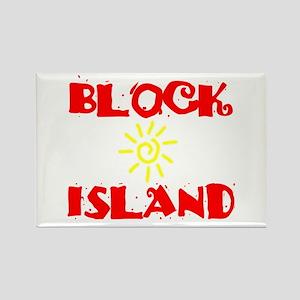 BLOCK ISLAND III Rectangle Magnet