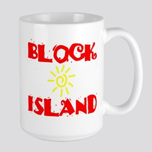 BLOCK ISLAND III Large Mug