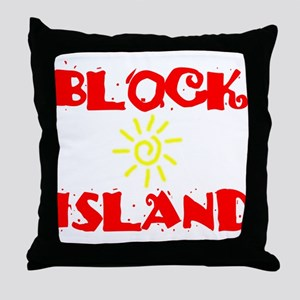BLOCK ISLAND III Throw Pillow