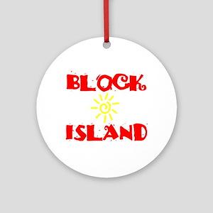 BLOCK ISLAND III Ornament (Round)
