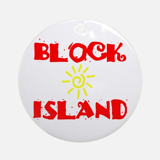 BLOCK ISLAND III Ornament (Round)