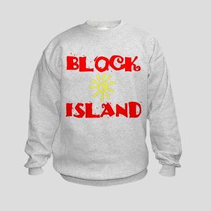 BLOCK ISLAND III Kids Sweatshirt