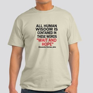 Wait and Hope Light T-Shirt